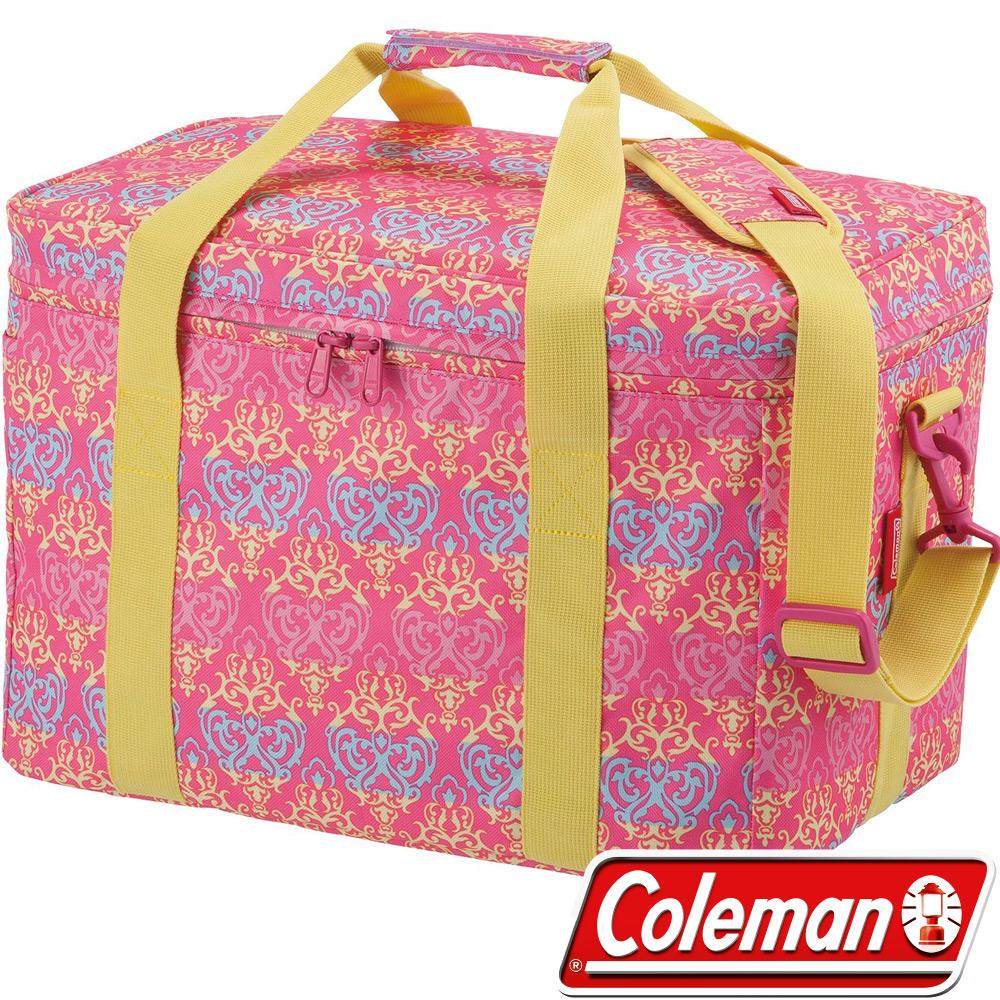 Coleman 22229 25L紅葉圖騰保冷袋 行動冰箱/釣箱/冷藏 保冰袋/冰桶