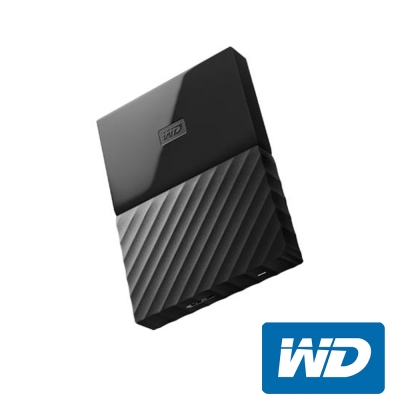 WD My Passport 1TB 2.5吋行動硬碟(WESN)-黑色系