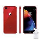 [無卡分期-12期]AirPods組合-iPhone 8 Plus 256G 5.5吋-紅
