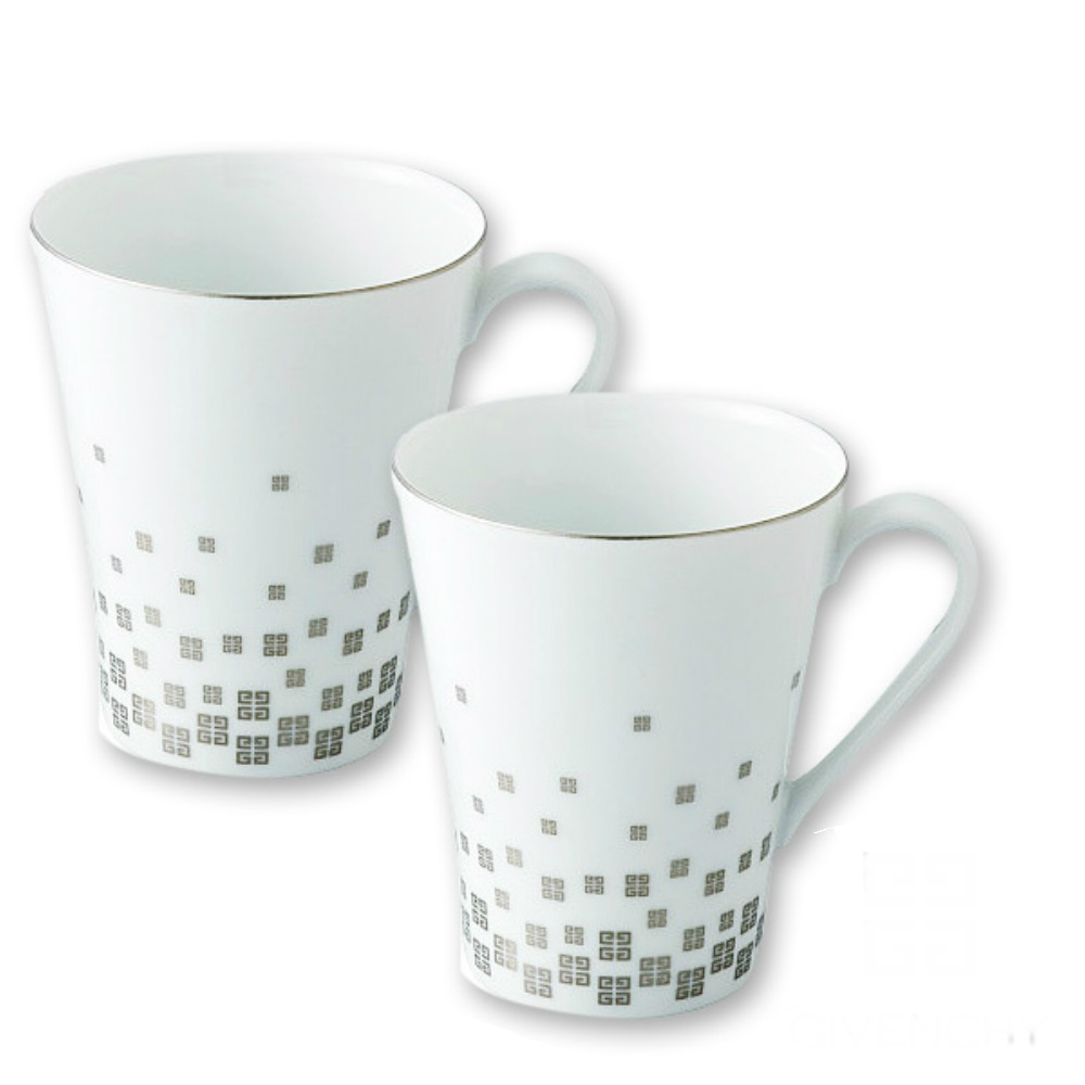 日本製GIVENCHY 紀梵希2入瓷杯組 (8H)