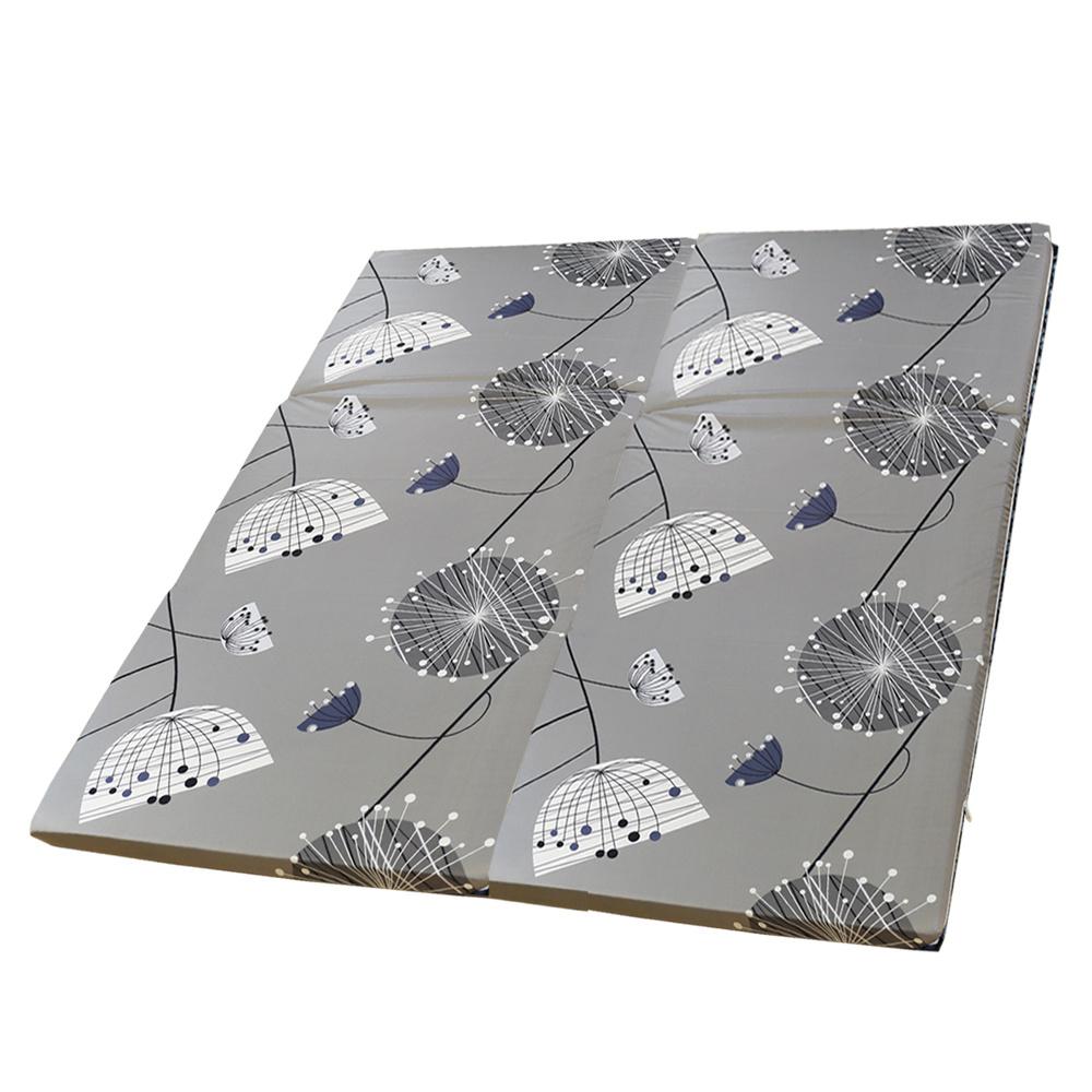 依文絲Aeneas 北歐時尚日式純棉中青便利床墊-加大6x6尺