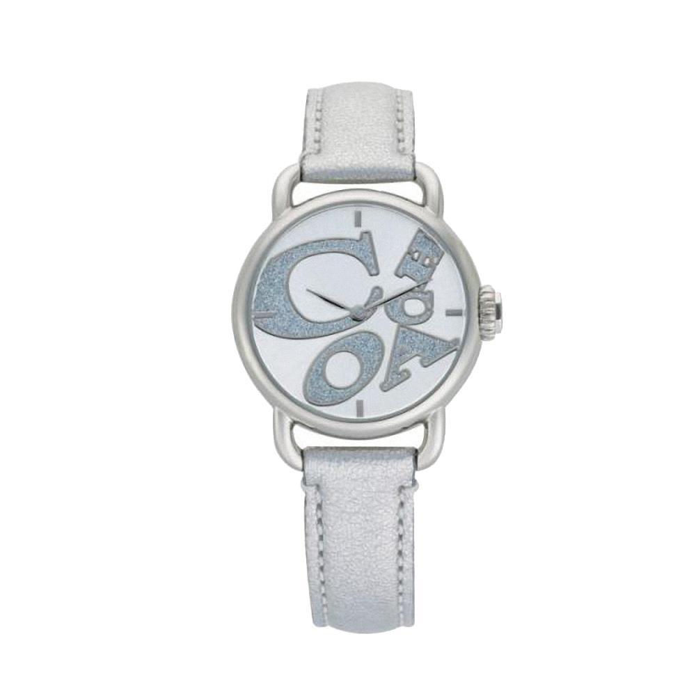COACH Hamptons 圓舞曲動感腕錶-銀色-30mm