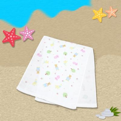 日本製粉小熊麻紗長巾34*85  cm