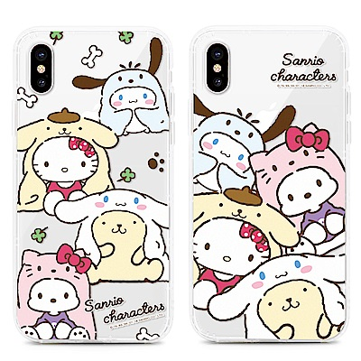 GARMMA  Hello Kitty iPhone X 防摔保護軟殼 狗年限定