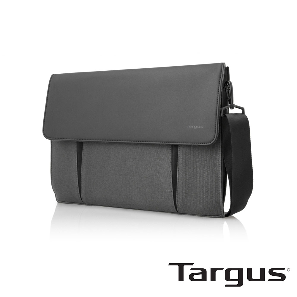 Targus Ultrabook 14吋超薄帆布隨身包-炭灰