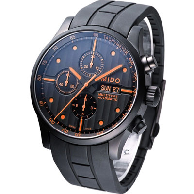 MIDO Multifort  先鋒系列典藏計時機械腕錶-44mm