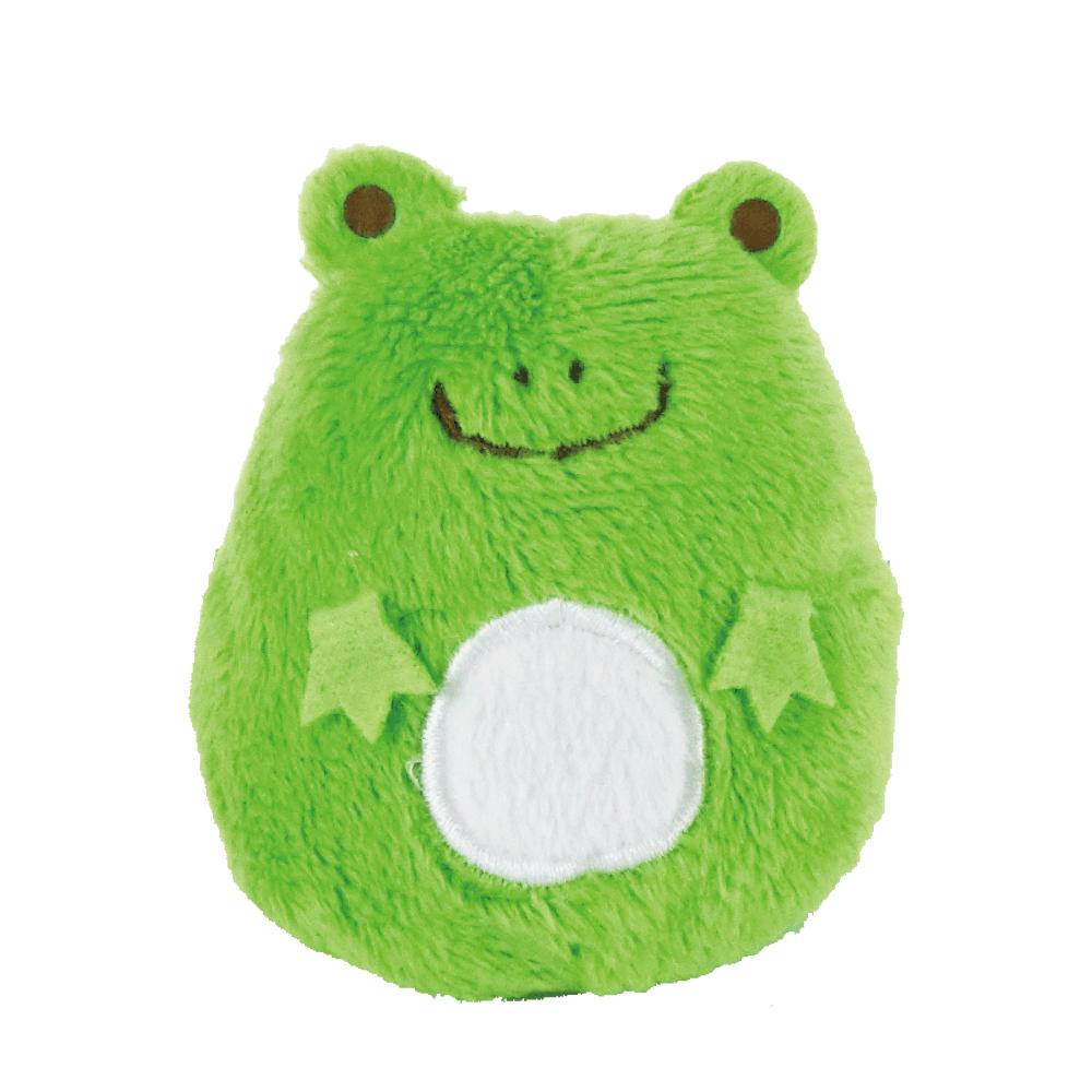 UNIQUE 動物樂園掌心沙包小公仔-小蛙君
