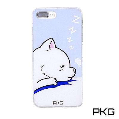 PKG Apple IPhone7+/8+ Plus彩繪空壓氣囊保護殼-浮雕彩繪...