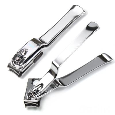 【貝喜力克】不鏽鋼旋轉式指甲剪+附放大鏡