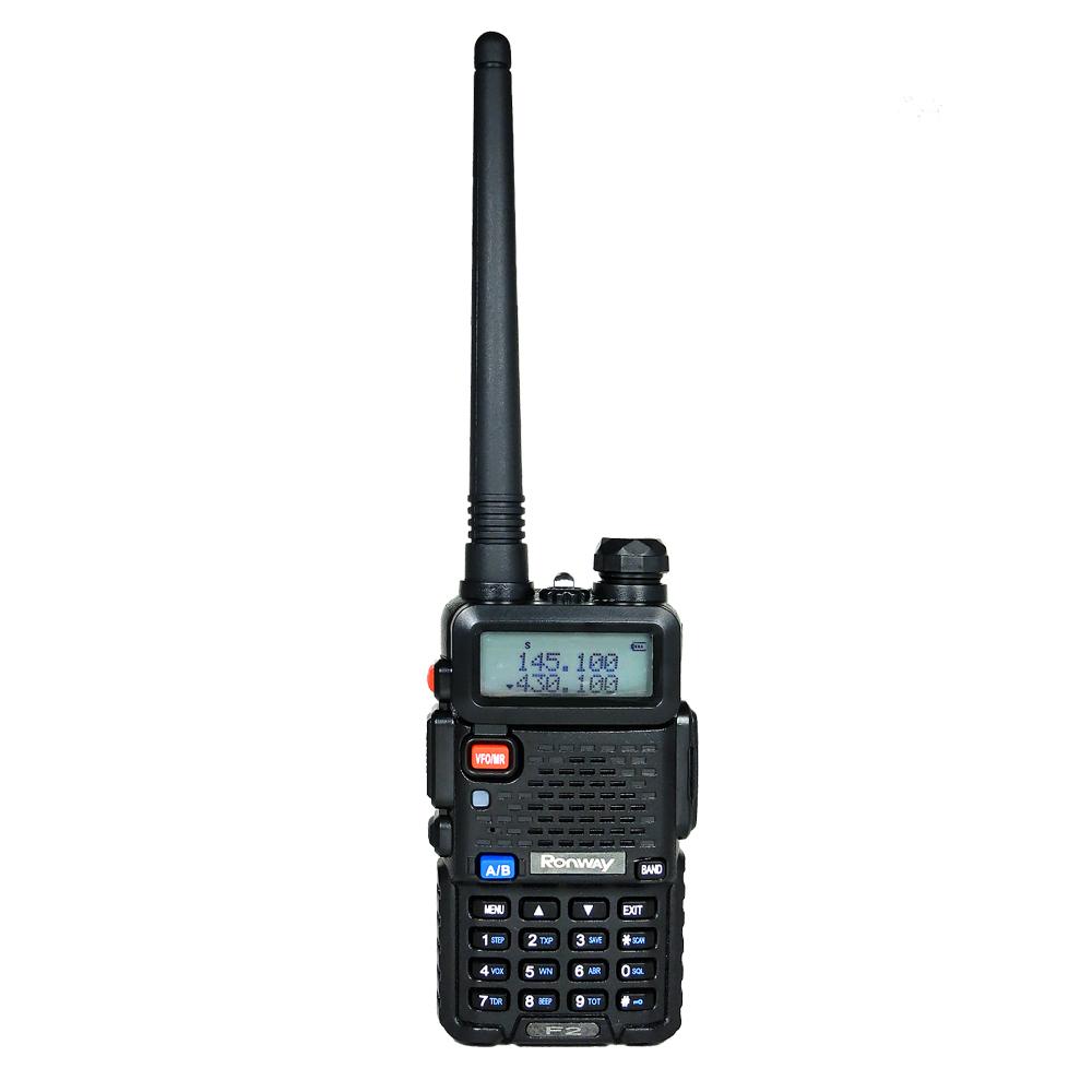《隆威 Ronway》 F2 VHF/UHF 雙頻無線電對講機