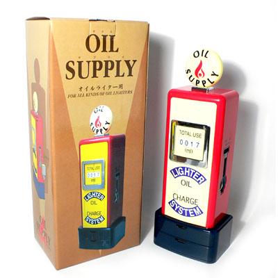 【ZIPPO專用】日本進口ADMIRAL~OIL SUPPLY桌上型加油機