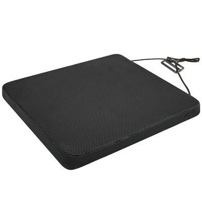 源之氣 竹炭釋壓記憶透氣坐墊/黑色 RM-9445-1