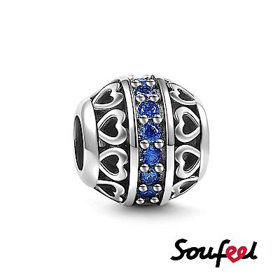 SOUFEEL索菲爾 925純銀珠飾 生日石 九月 串珠
