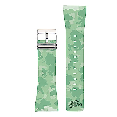 Smart Canvas 錶帶 史努比 綠野迷彩
