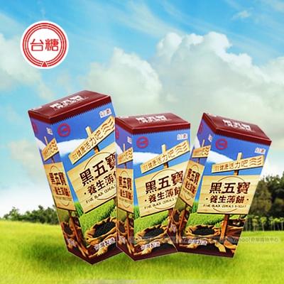 台糖 黑五寶養生薄餅x12盒(120g/盒)