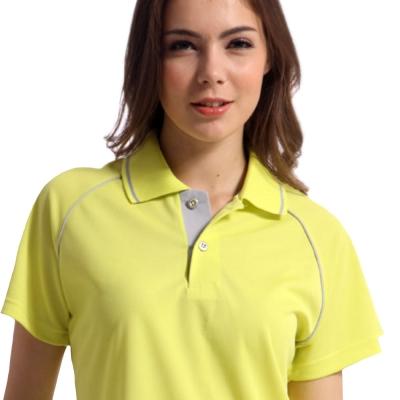 【Sunrise】88115-1閃耀月黃★短袖POLO女版襯衫