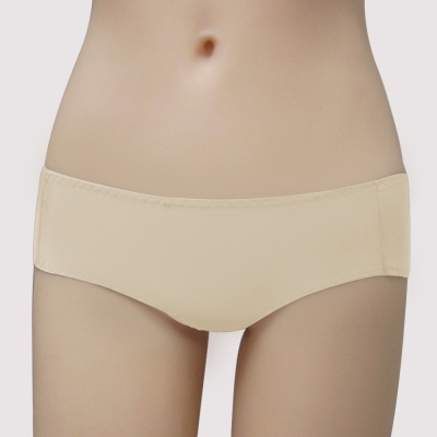 曼黛瑪璉 保氧高脅機能 低腰平口萊克內褲(柚膚)