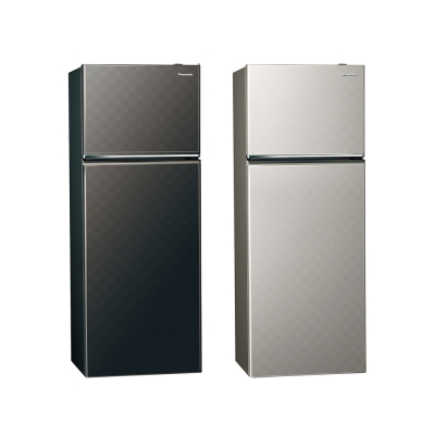 Panasonic 國際牌 393公升 Ag無邊框系列雙門變頻冰箱 NR-B409TV