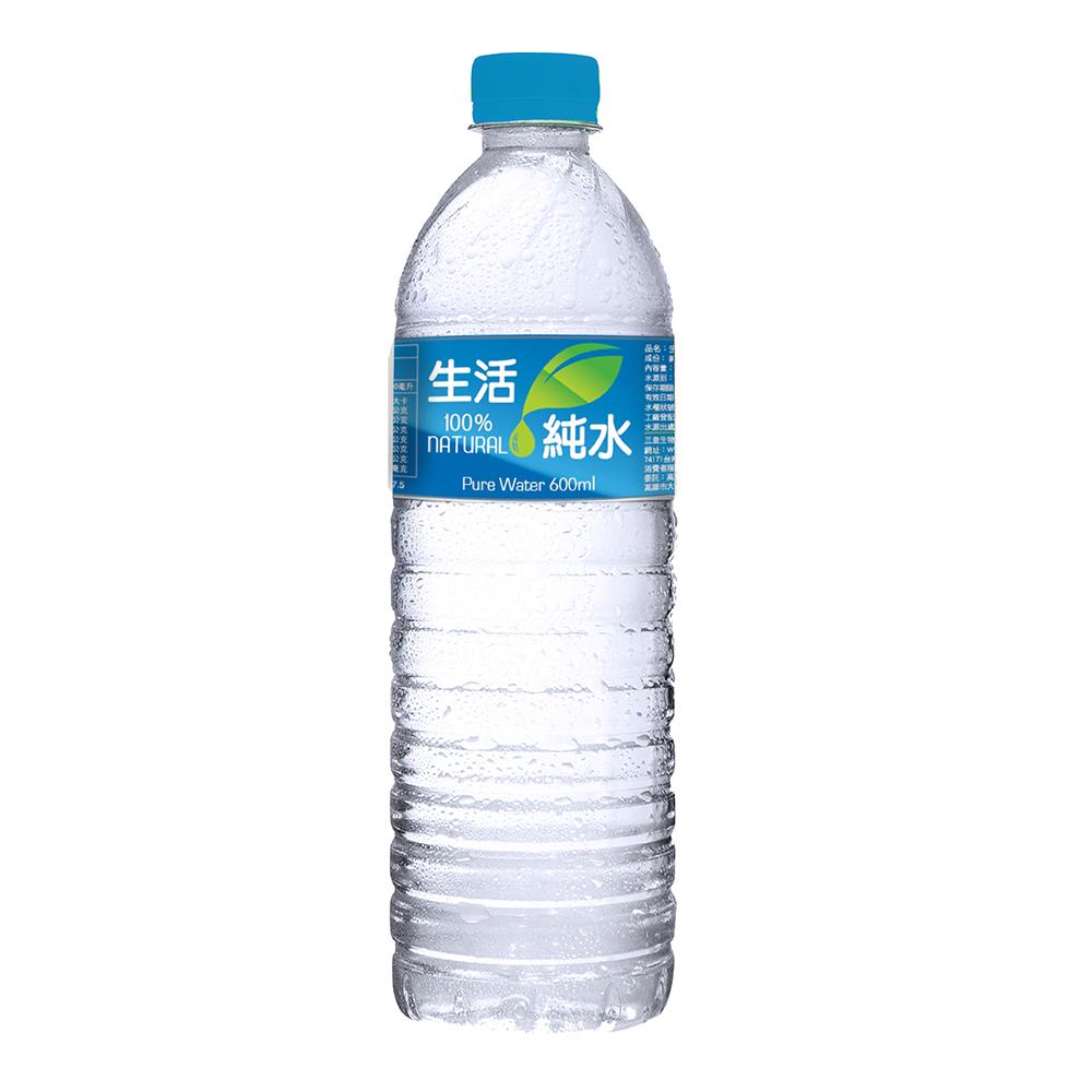 生活 純水(600mlx24入) @ Y!購物