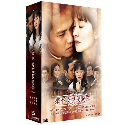 來不及說我愛你 DVD