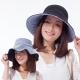 日本sunfamily 雙面雙色可折疊海軍風抗UV帽(黑/藍白條紋雙色) product thumbnail 1