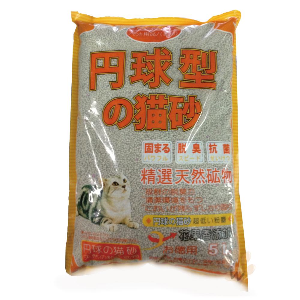 日本丹球型花果香細球砂 5L 《2包組》