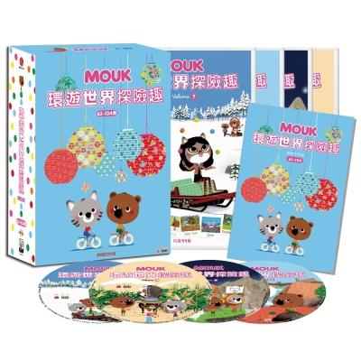 環遊世界探險趣 BOX 3 : 63~104集 DVD 附手冊+旅行筆記本