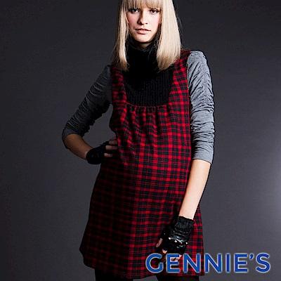 Gennies-010系列-百搭彈性孕婦上衣(T3219)白/黑/灰三色可選
