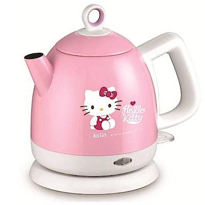 歌林 Hello Kitty 1.0L不袗快煮壺 KPK-MNR1042