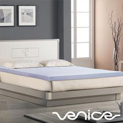 Venice日本抗菌防蹣3cm全記憶床墊-雙人5尺(藍色)