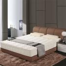 艾維斯 3M防潑水歐式提花三線獨立筒床墊-單人3.5尺