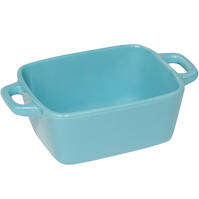 NOW 陶製焗烤盤4入(藍16cm)