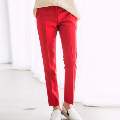 正韓-多色系休閒立體西裝褲-共七色-N-C21