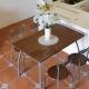 Amos-防潑水餐桌椅組120x80x77cm
