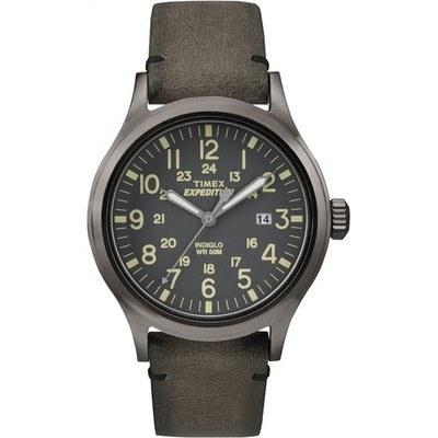 TIMEX 天美時EXPEDITION遠征戶外系列腕錶-深灰-40mm