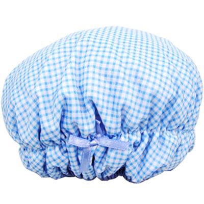 《創意達人》超纖雙層二用護髮浴帽3入