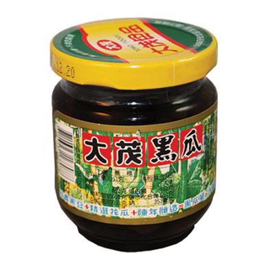 大茂 黑瓜-玻璃瓶(170gx6入)