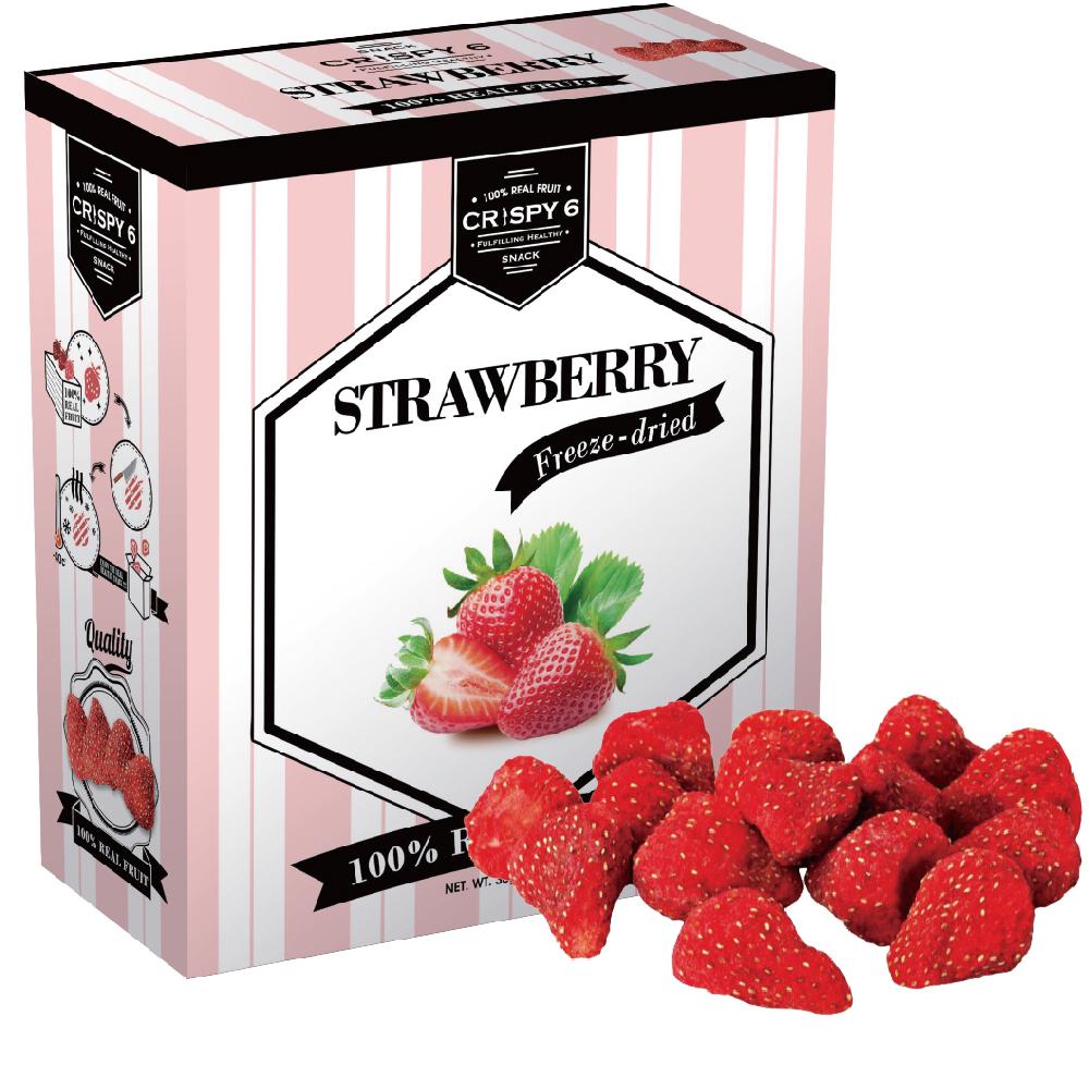 旅行者六號 水果乾-草莓(30g)