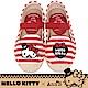 HELLO KITTY X Ann'S親子系列小幸運達利刺繡草編童鞋-紅 product thumbnail 1