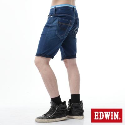 EDWIN 短褲 JERSEYS迦績涼爽工作短褲-男-石洗綠