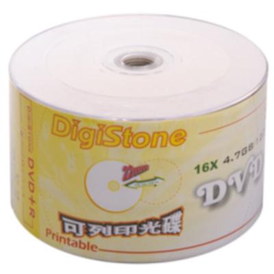 DigiStone 可印式A級 DVD+R 16X 裸裝 (100片)