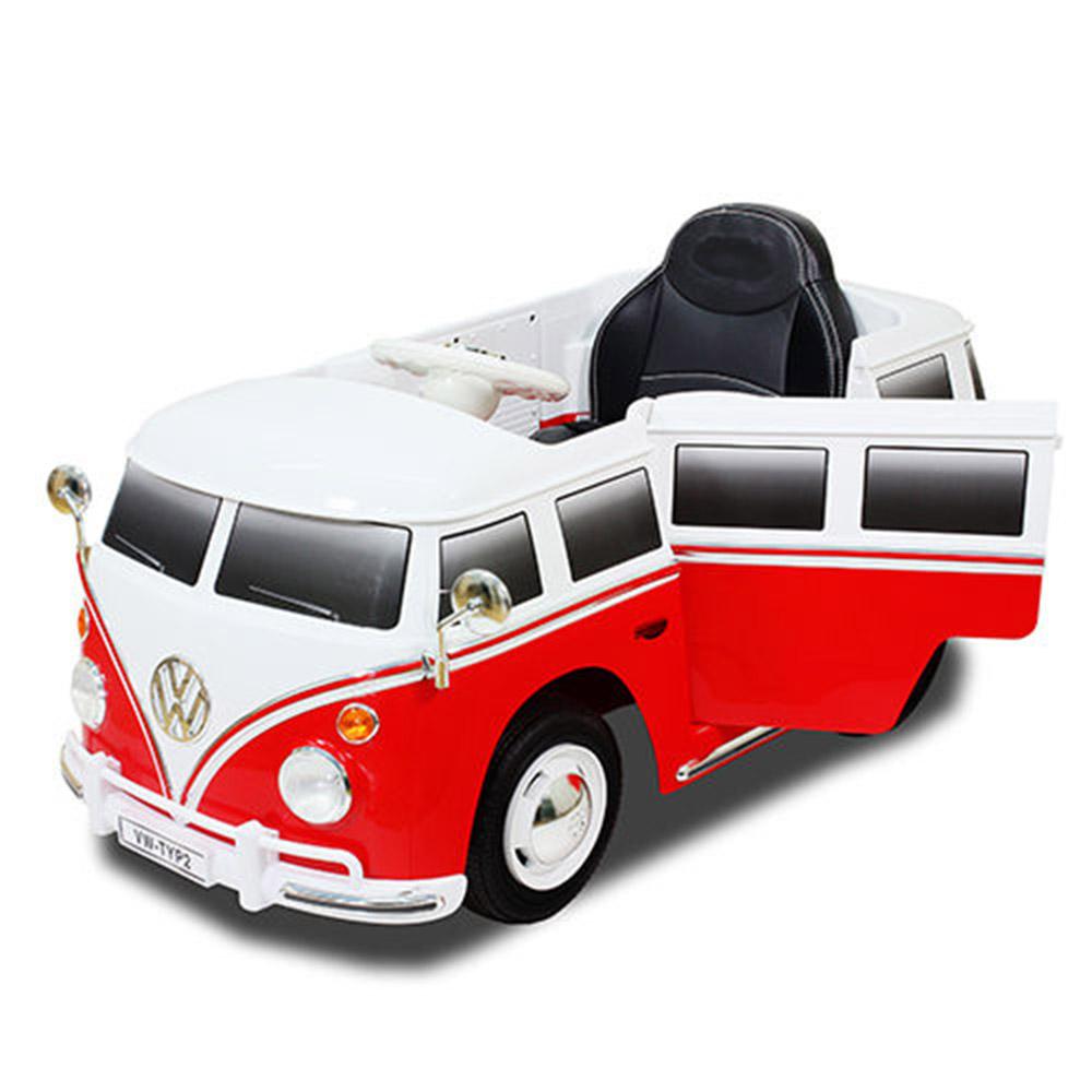 福斯電動麵包車VW RIDE-ON可遙控