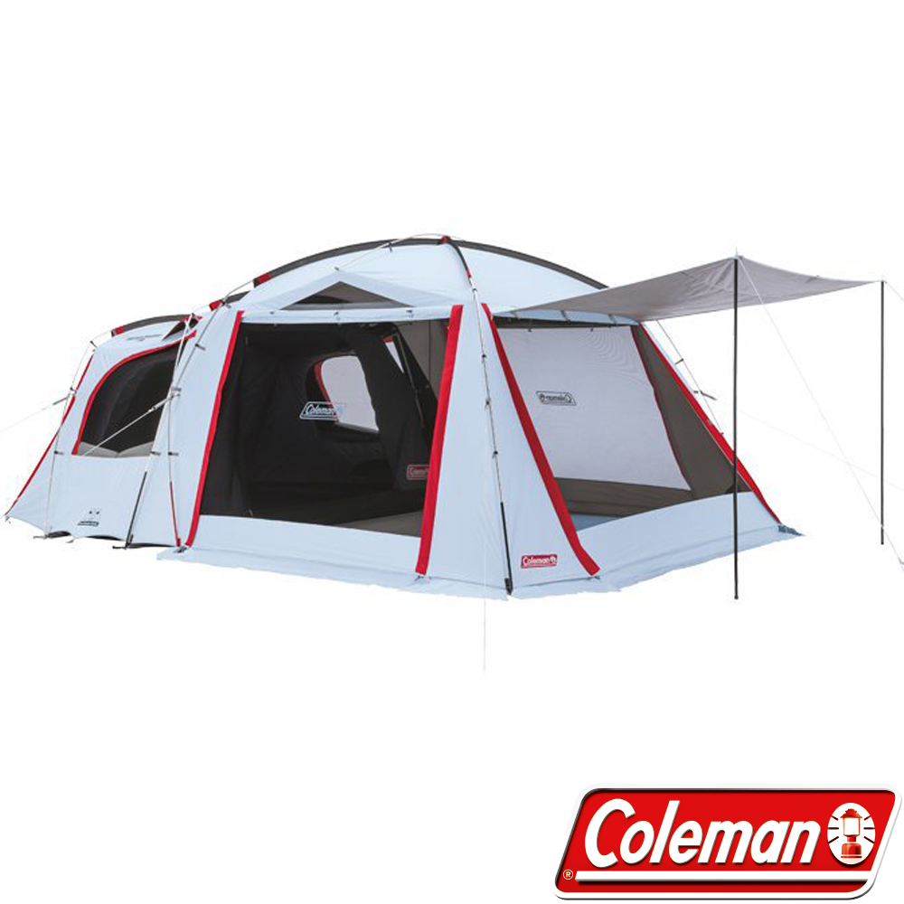 Coleman CM-33134 Tough透氣子母帳/露營帳篷 2-Room一房一廳帳
