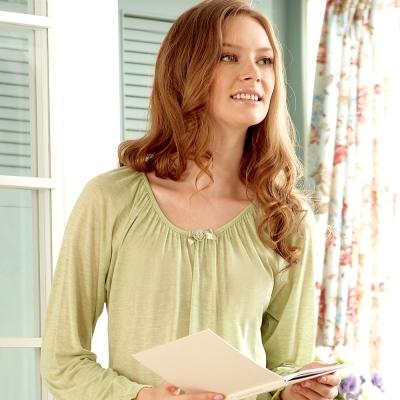 羅絲美睡衣 - 英國居家款長袖褲裝睡衣 (淺綠色)