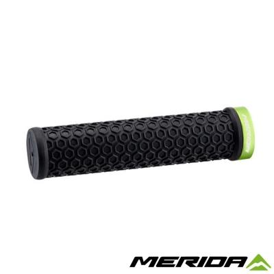 《MERIDA》美利達 自行車握把 黑/綠 2058034062