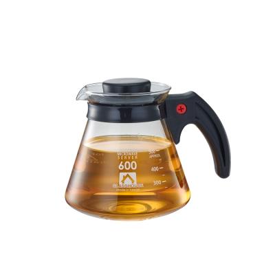 Glasshouse 台製耐熱玻璃壺/咖啡壺/花草茶壺600ML(C600)