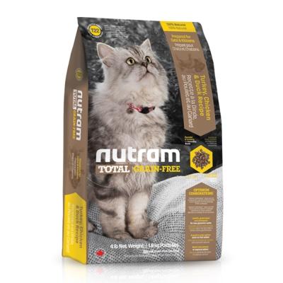 Nutram紐頓 T 22 無穀貓 火雞配方 貓糧  6 . 8 公斤