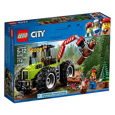 LEGO樂高 城市系列 60181 森林拖拉機