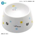 Marukan 加高型 陶瓷飯碗 貓用 CT-415