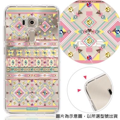 KnowStar ASUS ZenFone3 彩鑽防摔手機殼-璇
